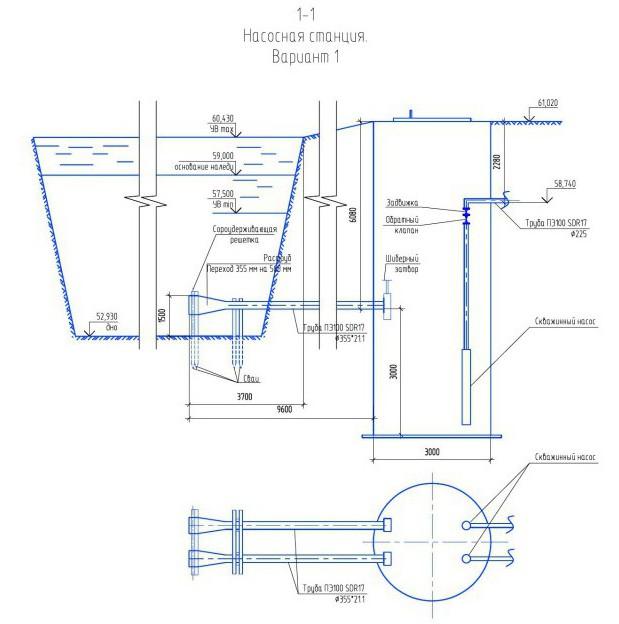 Водозабор. Пример 2